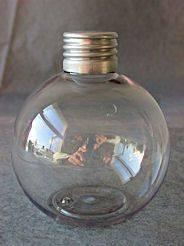 flacon boule en pet tranparent 150 ml