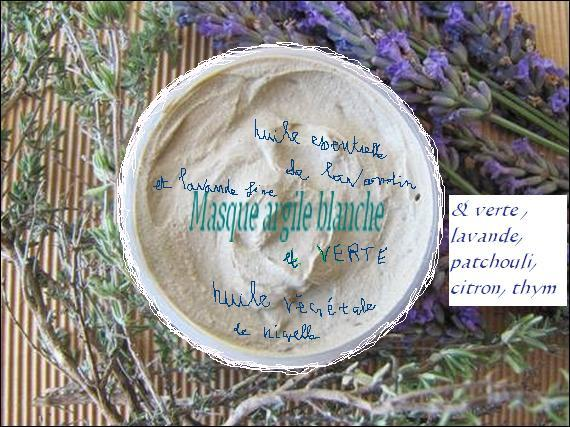 Masque argile verte purifiant
