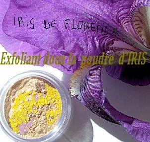 exfoliant poudre Iris